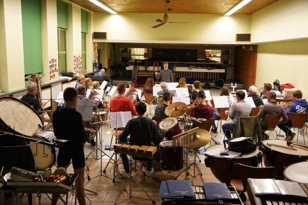 Harmonie Vreugd in Deugd uit Meulebeke verlaat na bijna eeuw repetitielokaal in De Gilde