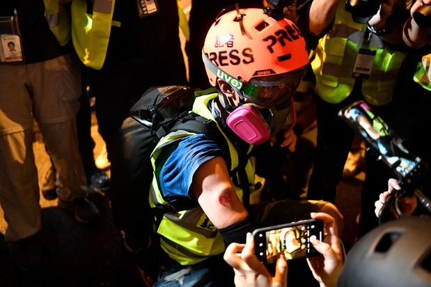 Opnieuw massaprotest tegen regering Hongkong