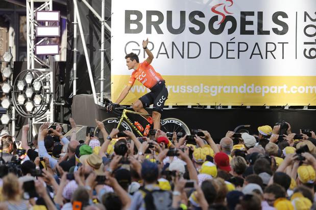 Brussel is niet de grote winnaar van de Tourstart
