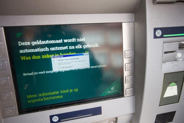 Argenta sluit 143 geldautomaten na nieuwe poging tot digitale plofkraak