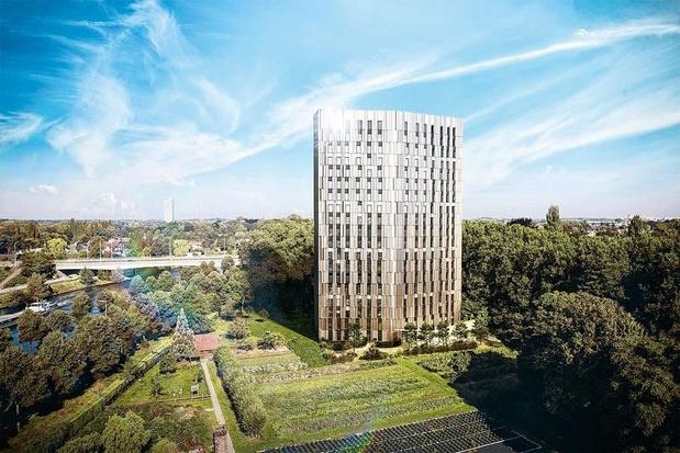 La plus haute tour de kots à Gand