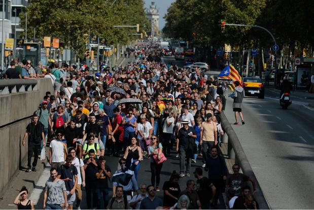 Buitenlandse Zaken waarschuwt toeristen voor manifestaties in Catalonië