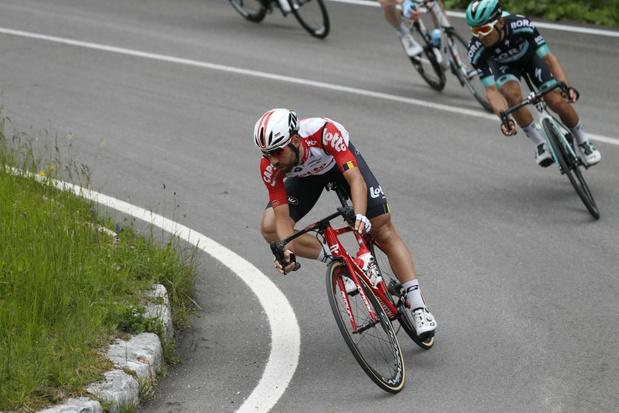 De Gendt verrast met derde plek in tijdrit Giro: 'Jammer dat het afgelopen is'