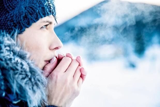 Souffrir d'urticaire au froid