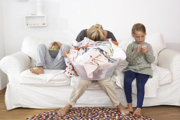 Burn-out bij ouders brengt ook kinderen zware schade toe