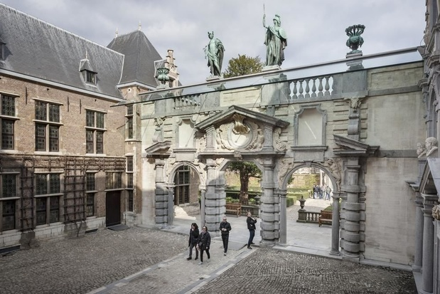 Portiek en tuinpaviljoen Rubenshuis zijn in oude glorie hersteld