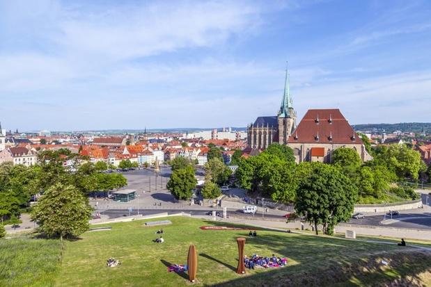 Erfurt: prentenboek van de Duitse geschiedenis