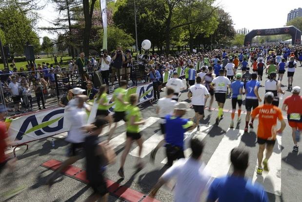 38.500 deelnemers voor Antwerp 10 Miles & Marathon