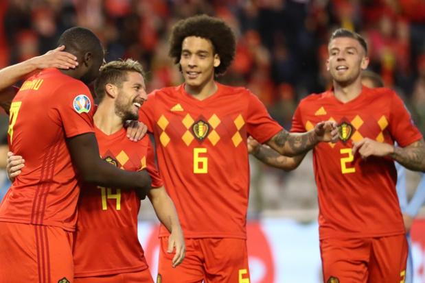 Rode Duivels behouden maximum in EK-kwalificatiepoule na 3-0 zege tegen Kazachstan