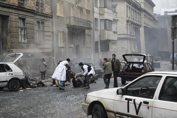 Sympathie pour le diable: dans le feu de Sarajevo