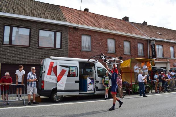 Warre Vangheluwe wint in Zonnebeke