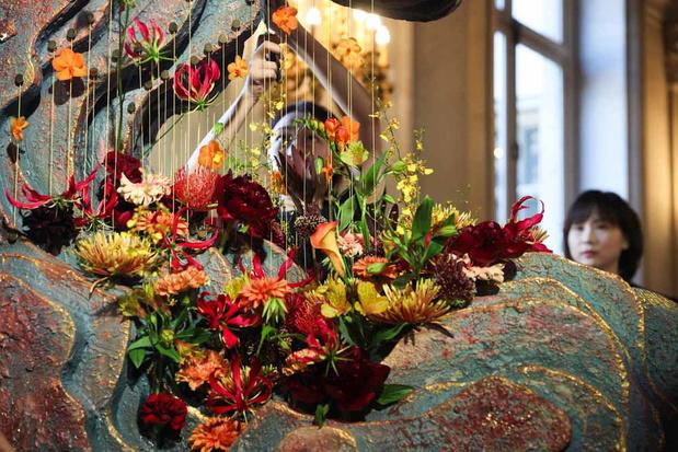 Des artistes du monde entier fleurissent l'Hôtel de Ville de Bruxelles (en images)