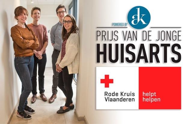 Jan Maertens, Elisabeth Persoons, Nick Stevens en Inge Vandenbempt winnen Prijs van de Jonge Huisarts 2019