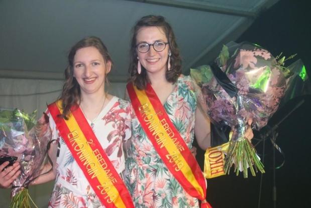 Celine De Pourcq uit Machelen tweede eredame van Eikoningin-verkiezing