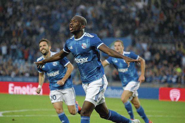 Kévin Zohi - club: RC Strasbourg
