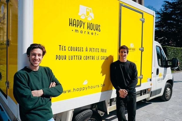 """Happy Hours Market, un marché """"anti-gaspi"""""""
