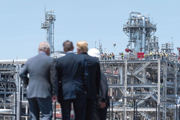 Comment l'Europe est devenue le premier importateur de méthane américain