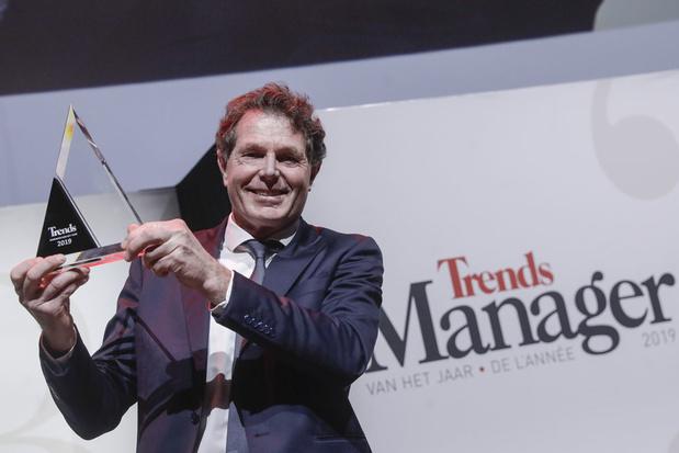 Onno van de Stolpe (CEO Galapagos) is Trends Manager van het Jaar