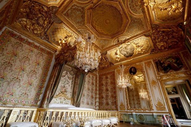 Versailles: appartementen van koningin Marie Antoinette heropend na herstelling in oorspronkelijke staat