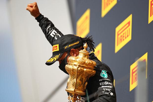 Hamilton wint voor de zevende keer GP van Groot-Brittannië