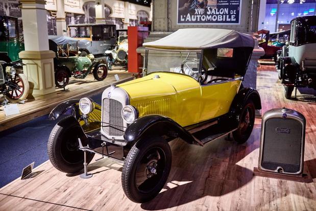 Bezoek het autosalon van 1910