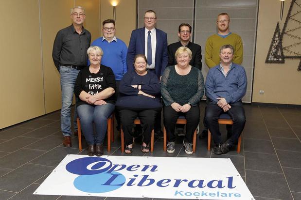 Henk Dejonghe blijft kopman Open Liberaal in Koekelare