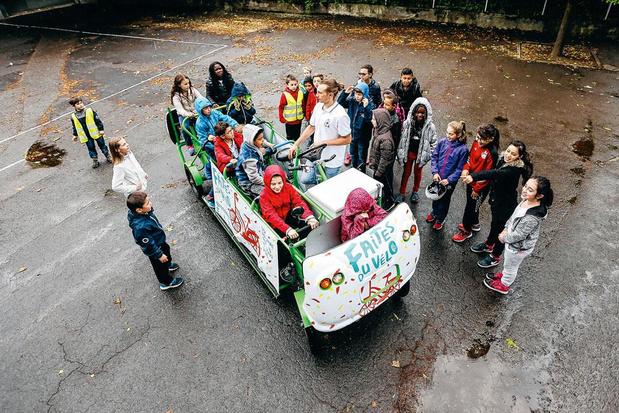 S'Cool Bus : aller à l'école en pédalant gaiement