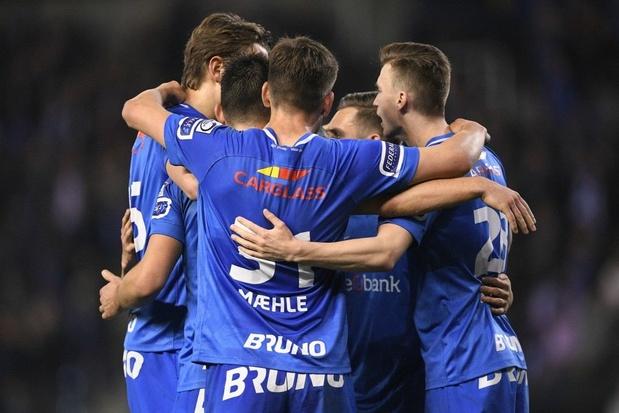 Genk herstelt zich tegen Gent en loopt opnieuw vier punten uit