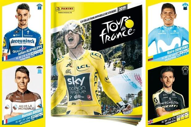 Panini sort un album inédit sur le Tour de France