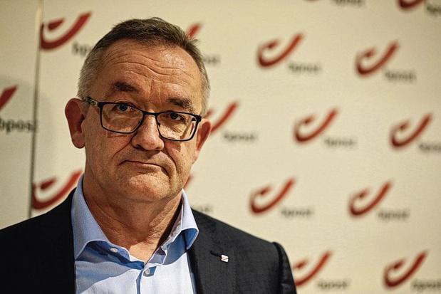 """Jean-Paul Van Avermaet (CEO de bpost) : """"J'ai pleine confiance"""""""