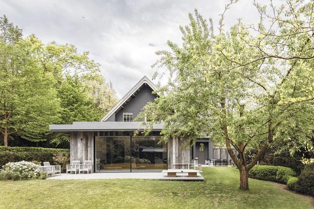 En images: près de Gand, une lumineuse maison où vieillir heureux