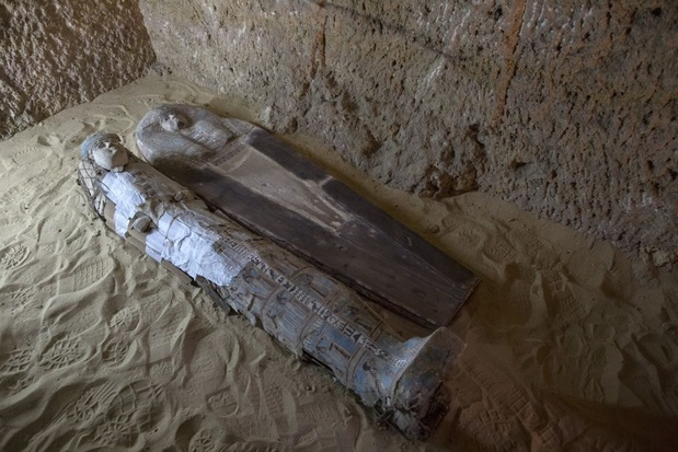 4.400 jaar oude kalkstenen tombe ontdekt in Egypte