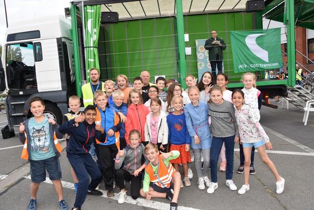 366 Harelbeekse schoolkinderen nemen deel aan Verkeersdag