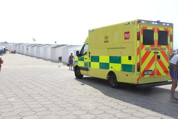 """Warmste dag ooit in Oostende zorgt voor overbelaste hulpdiensten: """"Mensen vielen als vliegen"""""""