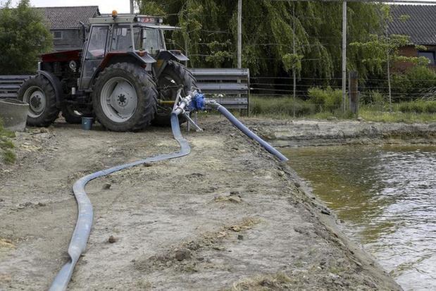 Al negen landbouwers betrapt op schenden oppompverbod IJzerbekken