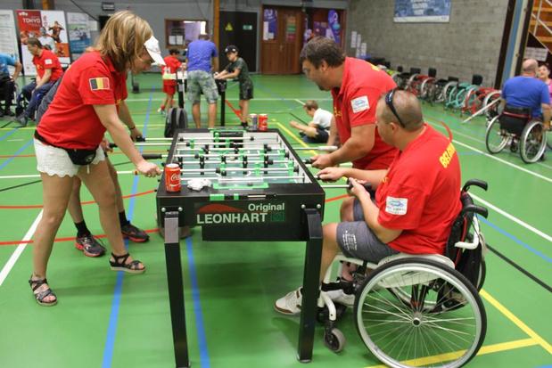 Sportievelingen met een beperking proberen sporten uit in Oostende