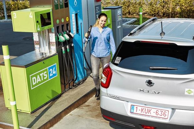 Rouler au gaz: moins cher et plus sain