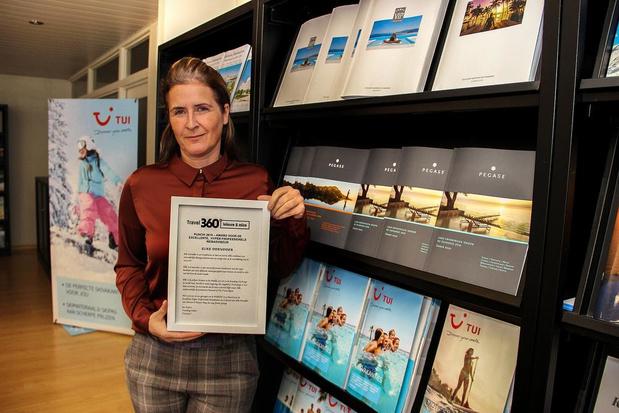 Award bekroont Werviks reisbureau Selectair D Travel