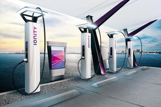 """Q8 et Ionity inaugurent les premières stations de recharge """"high power"""" sur l'E19"""