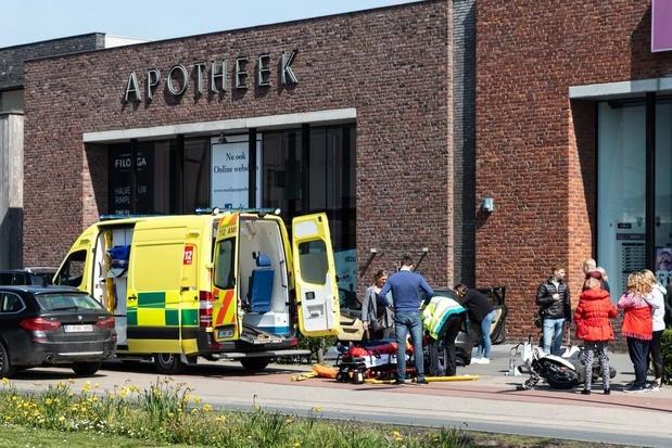 Ongeval met jongere op brommer aan Westlaan
