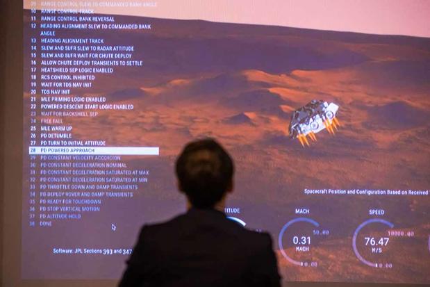 Perseverance: la quête de vie sur Mars peut commencer