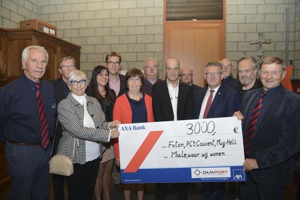 Optreden Scala levert werkgroep 'Male, waar wij wonen' 3.000 euro op