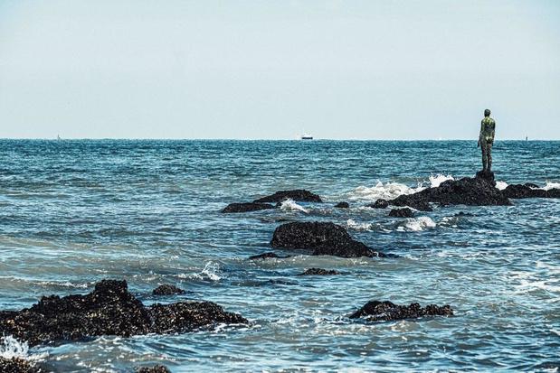 Kunst aan de kust: heerlijk mijmeren bij een beeld van Antony Gormley
