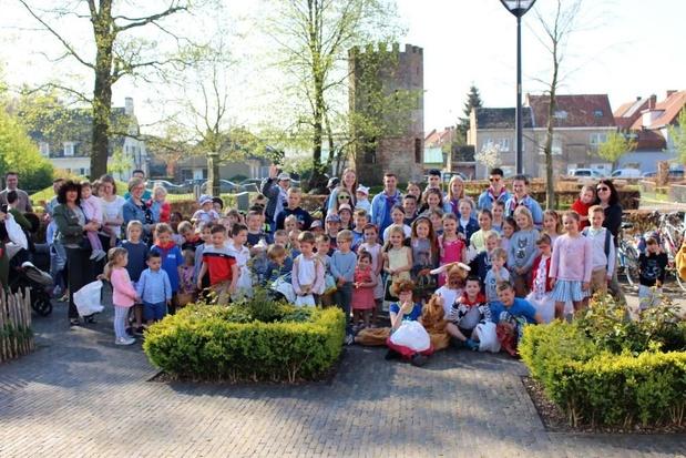 KSA Westkerke maakt op paaszondag meer dan 90 kinderen gelukkig