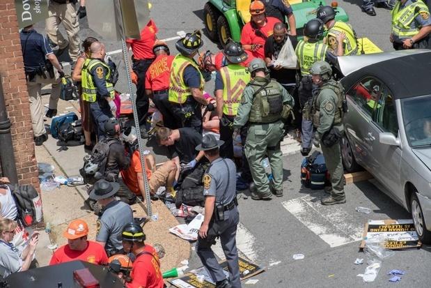 Dader van aanslag Charlottesville kijgt levenslang