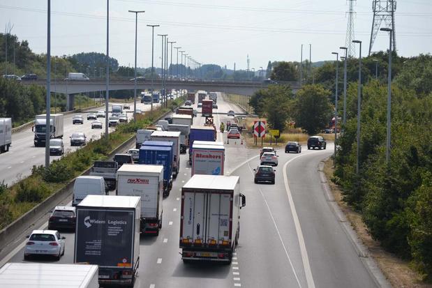 Tijdelijke verkeershinder op E17 Waregem-Deerlijk