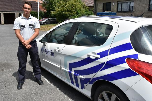 """Pieterjan Verbeke is de nieuwe wijkinspecteur in Zwevezele: """"Samen oplossingen zoeken"""""""