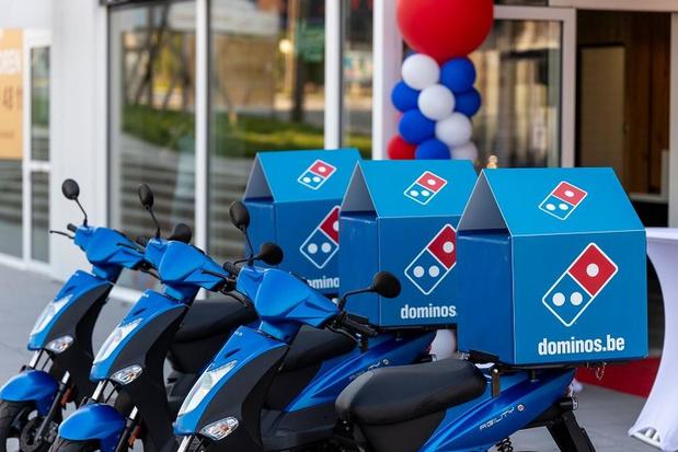 Domino's Pizza opent eerste winkel in Menen