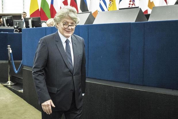 """Le commissaire européen Thierry Breton: """"Pour accéder au marché européen, il faudra accepter nos règles"""""""