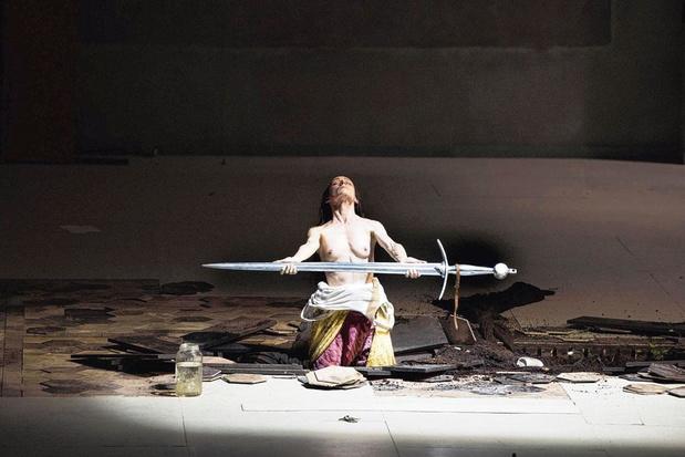 Jeanne d'Arc op de planken